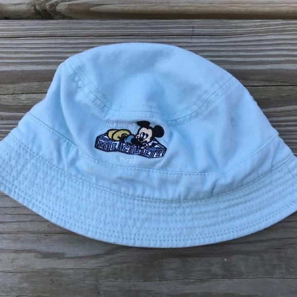 Disney Hats Infant My First Mickey Hat Cap Blue 12e53bebddb